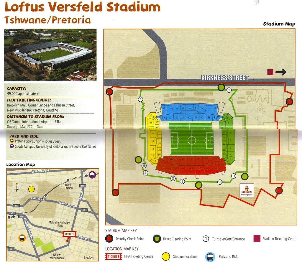 FIFA 2010 World Cup Stadium: Pretoria/Tshwane Loftus Versveld
