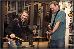 JOE MEYER AND PRESTON HUBBARD (CRYROLFE_PHOTOGRAPHY) Tags: music bcd bluescitydeli matthill