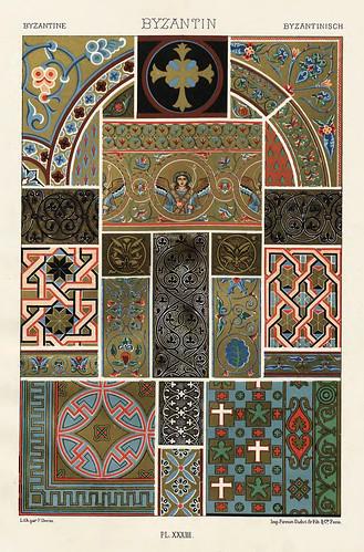012-Ornamentos policromados bizantinos2-Das polychrome Ornament…1875