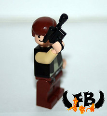 Han Solo (Brick Mercenaries Custom Minifigures) Tags: amazing lego mini creation figure custom armory minifigure moc brickarms brickforge