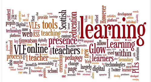 MSc eLearning: Essay Wordle