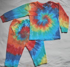 12 mos tie  dye outfit