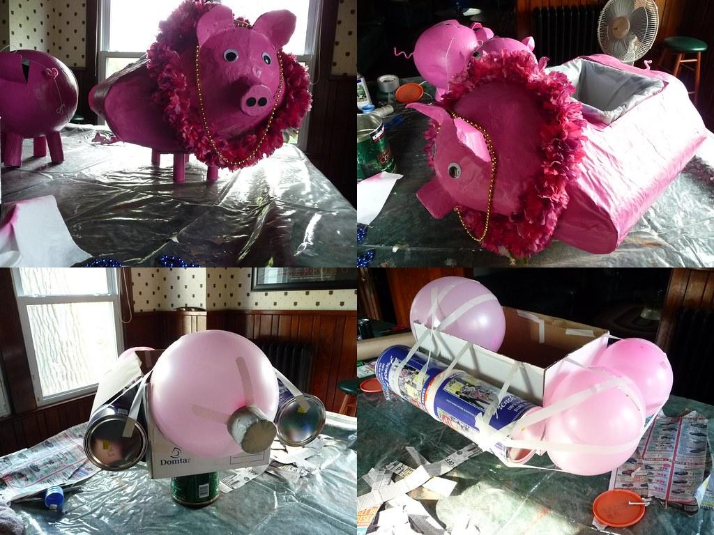 pig shot holder
