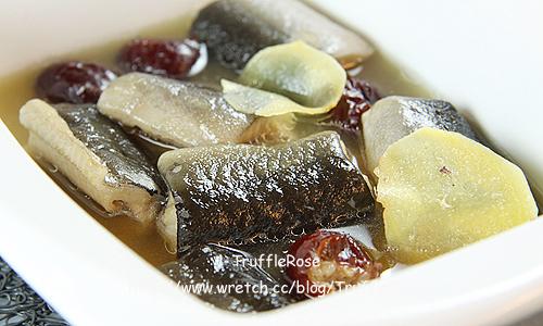 燉鰻魚-100505