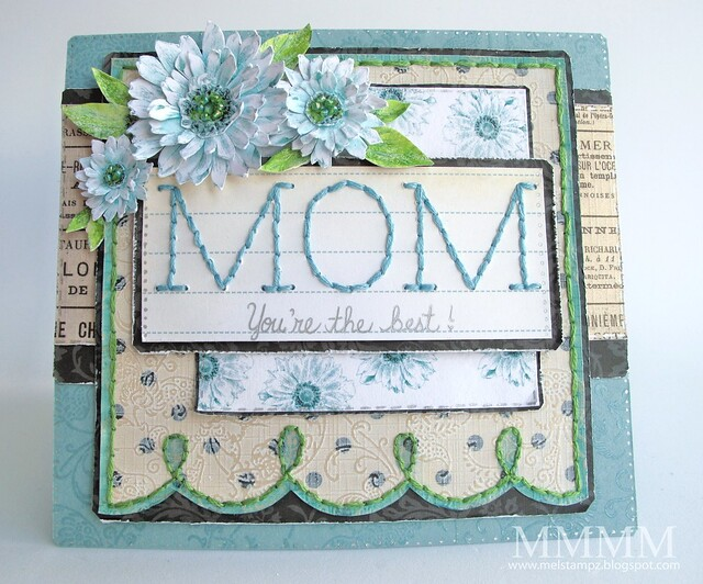 Tiffany Doodles Mom card