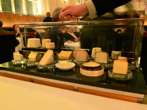 Cheese course at Eleven Madison Park