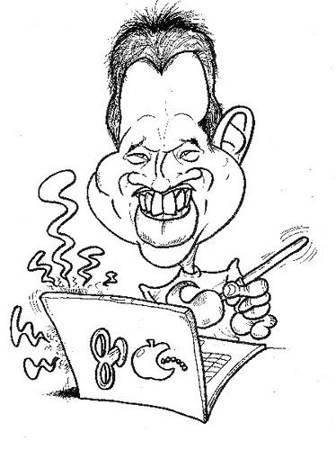 My caricature by caricaturist Gerardo Oroz Gomez