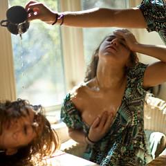 Psyche (NorwayNatasha) Tags: me water square dress yo clones oil upset selfie norwaynatasha clonesareaddicting
