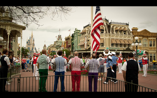 Disney's Human Element - Flag Retreat (by Scott Smith (SRisonS))
