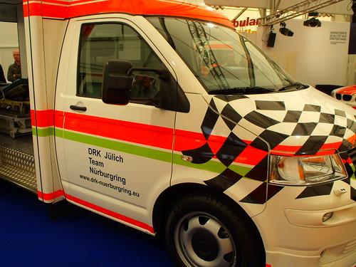 RTW auf T5 DRK Jülich Team Nürburgring