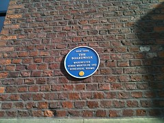 Photo of Boardwalk blue plaque