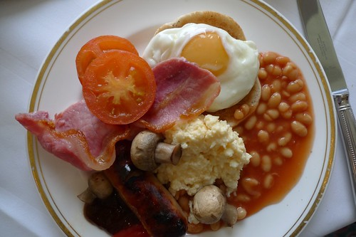 Fry up brealkfast at the Grand Hotel