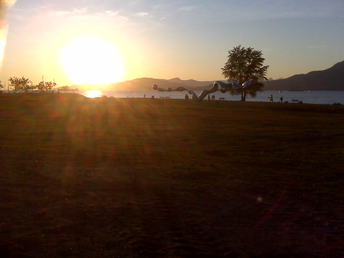 Sunset Over Vanier Park