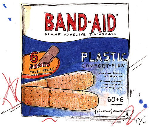 brought to you by band-aids