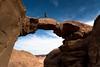 20090410 Jordania - 10 Wadi Rum 145 (blogmulo) Tags: travel bridge rock canon landscape puente desert ar paisaje climbing viajes desierto rum wadi 2009 escalada roca canon450d burdah blogmulo