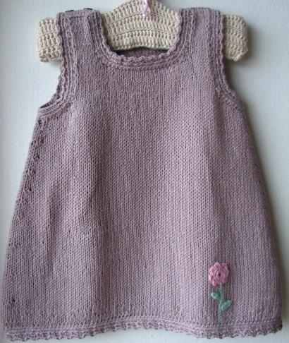 Handamde organic cotton dress