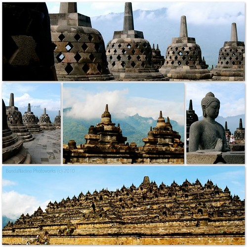 Borobudur - collage