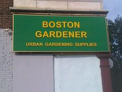 Boston Gardener
