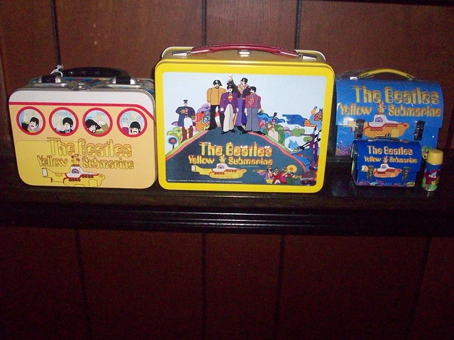Yellow Submarine lunchboxes