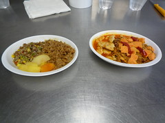 AFC Rice Pilaf and Curry