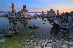 Tones_Of_Mono_Lake (David Shield Photography) Tags: california morning sky lake color nature sunrise landscape rocks scenic monolake easternsierras leevining tufas southtufa tufatowers flickraward naturesgreenpeace