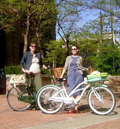 Knitting Lemonade The Pink Helmet Bicycle Brigade