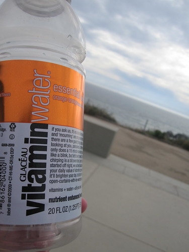 Vitamin water at Sutro Baths - $1.75