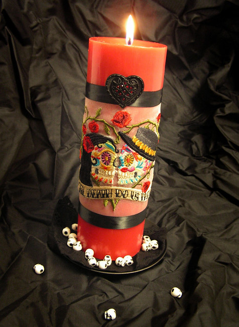 Day of the Dead Unity Candle