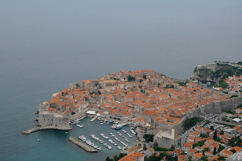 View from Mt. Srd, Dubrovnik