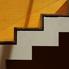 stair (Roger_T) Tags: abstract lines yellow architecture schweiz switzerland stair university linie zurich minimal treppe explore gelb architektur zrich 2010 abstrakt flickrexplore explored unizrich universittzrich careum uzh sonyalpha200