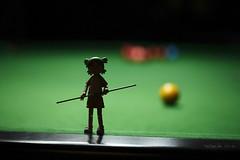 Yotsuba - Play Snooker (yayaniki) Tags: canon 100mm 5d usm f28 ef markii yotsuba  revoltech