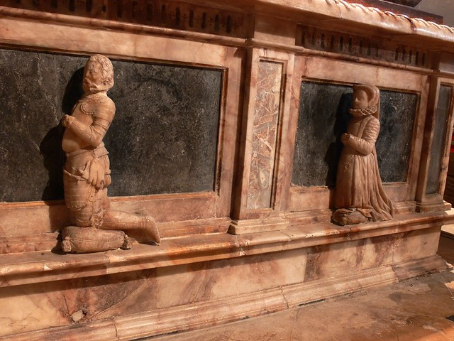 Thomas Lucy Tomb, Charlecote Warwickshire, Shakespeare