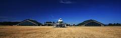 Before the Move (Kyle Kruchok) Tags: summer hot field museum oregon warm or aviation bluesky goose spruce mcminnville