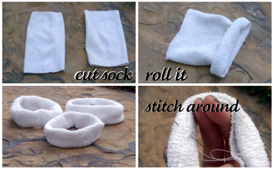 Cut Sock + Roll Sock + Stitch Sock