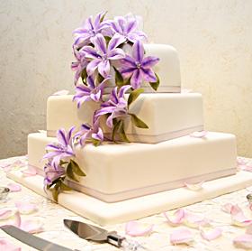 Torta bodas 3 niveles