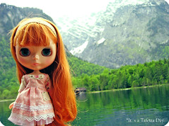 *child of the mountains (QueenPantoufle) Tags: travel alps photography dolls blythe lele dlg knigssee dearlelegirl