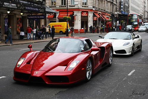 Ferrari Enzo and 16m