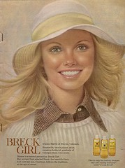 Breck Girl '74 (glen.h) Tags: vintage women shampoo 70s magazines 1970s seventies advertisments breck