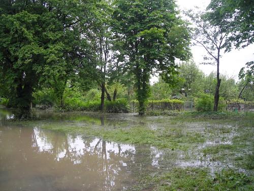 0 zakole Wisly po powodzi