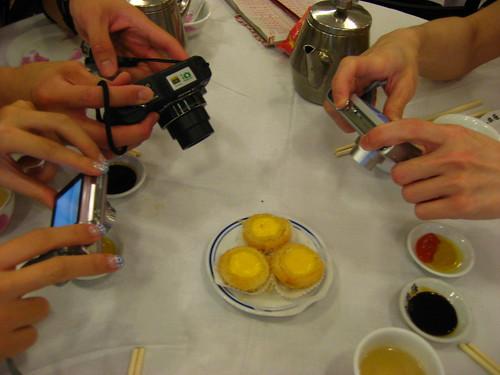 Breakfast at Luk Yu Teahouse