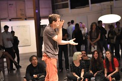 Arturo Vidich performs (AT1 Projects) Tags: art death losangeles performance volume arturovidich at1projects