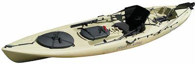 Prueba un kayak con motor eléctrico.
