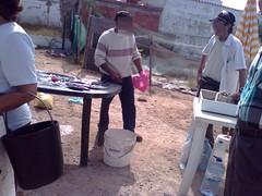Telemóvel - Venda ilegal - Mercado de Quarteira (_Raúl_) Tags: fish fisherman peixe ilegal algarve venda quarteira sardinha vendedores carapau peixeiros