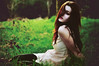 10 random [Explore Front Page] (laura zalenga) Tags: light summer woman sun black green girl grass forest self hair facts ©laurazalenga