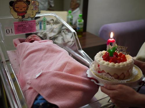 蕾的第一個蛋糕