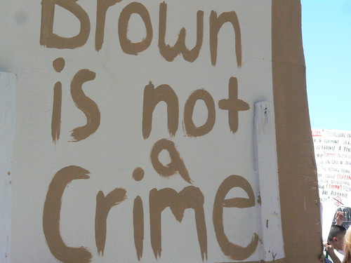 Brown is not a Crime by xomiele.