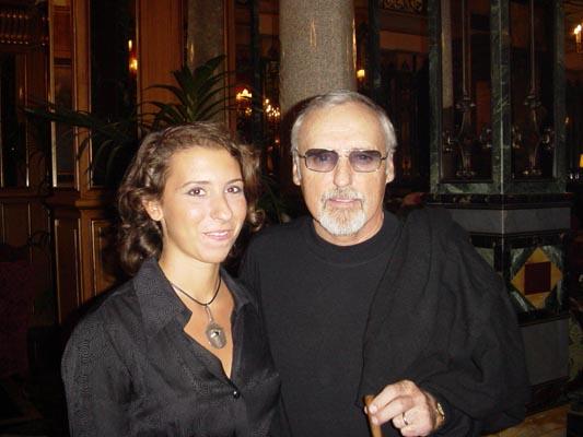 Dennis Hopper & me