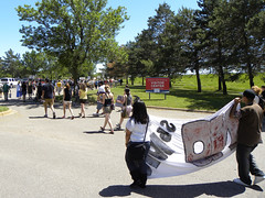 Protest against immigration laws and a call to remove Fort Snelling (Fibonacci Blue) Tags: arizona signs history minnesota sign march photo spring message native fort indian rally protest may picture cities historic demonstration photograph american signage illegal ft law twincities mendota activism imperialism genocide mn protester immigration boycott immigrant activist racial 2010 profiling reform protestor snelling 1070 colonialism proposed indiginous mirac sb1070