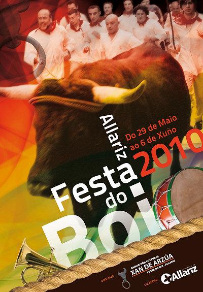 Allariz - 2010 - Festa do Boi - cartel