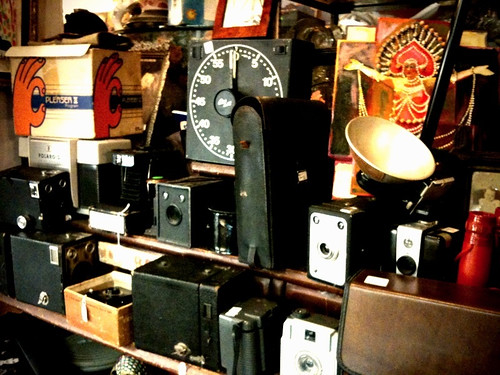 Antique camera equipment